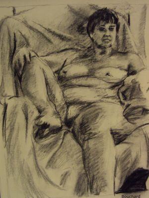 reclining woman