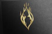 Custom logo for a women's lifestyle company