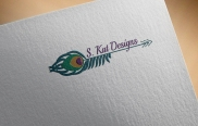 One of several logo concepts for S Kat Designs