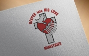 An early version of a logo mockup for a Ministry and book