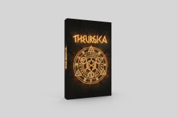 Rulebook cover for Theurgica board game